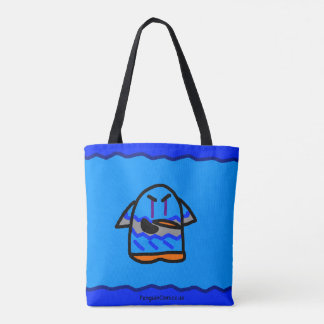 Frozen Penguin Tote bag
