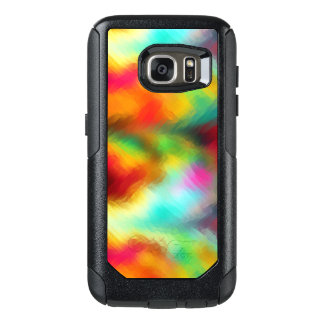 Frozen Rainbow Abstract Pattern OtterBox Samsung Galaxy S7 Case