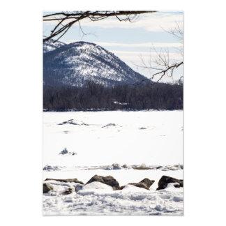 Frozen River Scene
