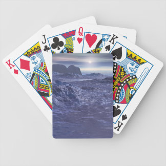 Frozen Sea of Neptune Bicycle Playing Cards