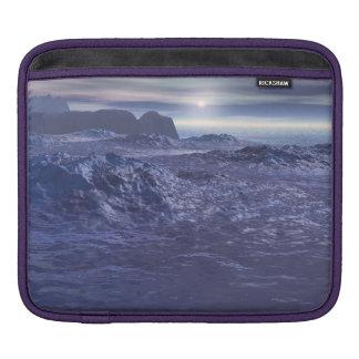 Frozen Sea of Neptune iPad Sleeve