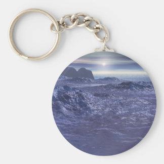 Frozen Sea of Neptune Keychain