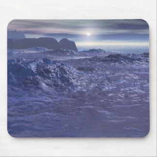 Frozen Sea of Neptune Mouse Pad