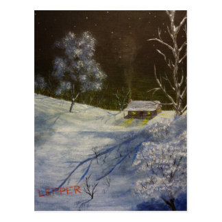 Frozen Serenity.JPG Postcard