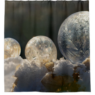 Frozen Soap Bubbles Ice Crystal Cool Winter - Tub