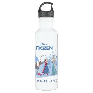 Frozen   Sven, Anna, Elsa & Olaf Blue Pastels