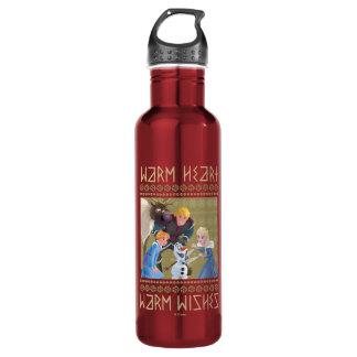 Frozen   Warm Heart Warm Wishes 710 Ml Water Bottle