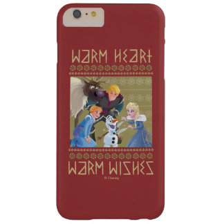 Frozen | Warm Heart Warm Wishes Barely There iPhone 6 Plus Case