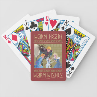 Frozen | Warm Heart Warm Wishes Bicycle Playing Cards