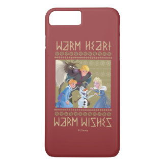 Frozen | Warm Heart Warm Wishes iPhone 8 Plus/7 Plus Case