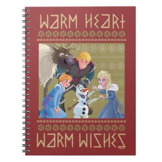 Frozen | Warm Heart Warm Wishes Notebooks