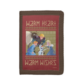 Frozen | Warm Heart Warm Wishes Tri-fold Wallets