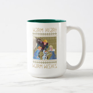 Frozen | Warm Heart Warm Wishes Two-Tone Coffee Mug
