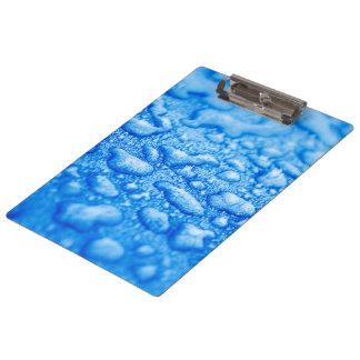 Frozen Water Drops Clipboards