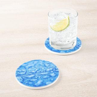 Frozen Water Drops Drink Coaster