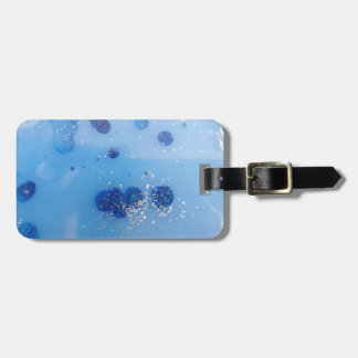 frozen water luggage tag