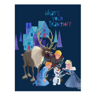 Frozen | What's Your Tradition Postcard
