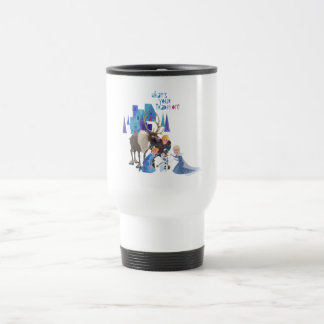 Frozen | What's Your Tradition Travel Mug