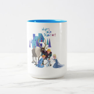 Frozen | What's Your Tradition Two-Tone Coffee Mug