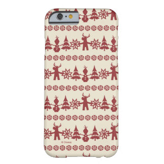 Frozen | Winter Wishes Pattern Barely There iPhone 6 Case