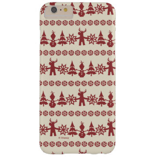 Frozen | Winter Wishes Pattern Barely There iPhone 6 Plus Case
