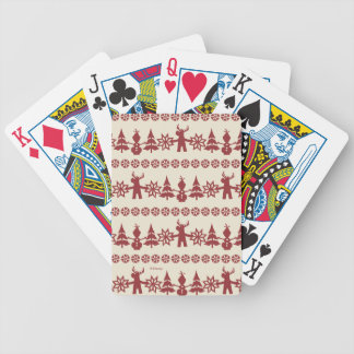 Frozen | Winter Wishes Pattern Bicycle Playing Cards