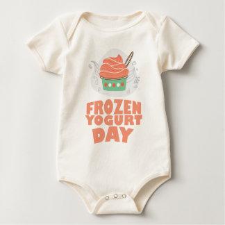 Frozen Yogurt Day - Appreciation Day Baby Bodysuit