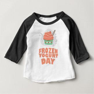 Frozen Yogurt Day - Appreciation Day Baby T-Shirt