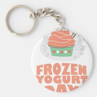 Frozen Yogurt Day - Appreciation Day Keychain
