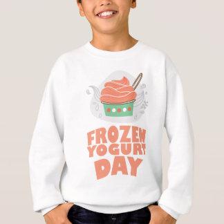 Frozen Yogurt Day - Appreciation Day Sweatshirt