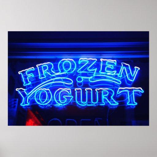 Frozen Yogurt in Florence Print