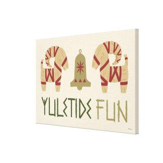Frozen | Yuletide Fun Canvas Print