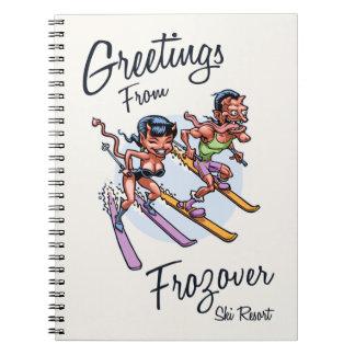 Frozover Ski Resort Notebooks