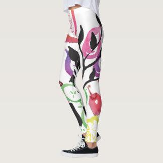 Fruit and Flower Legging for Women (All sizes)
