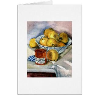Fruit and Jam Card