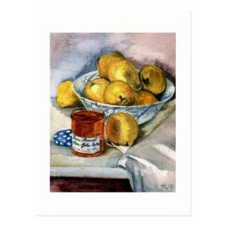 Fruit and Jam Postcard