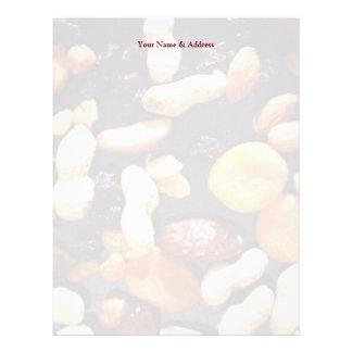 Fruit and Nut Letterhead Template