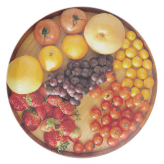Fruit and Veg Party Plates