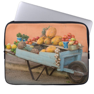 Fruit and vegetable cart, Cuba Laptop Sleeve