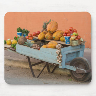 Fruit and vegetable cart, Cuba Mouse Pad