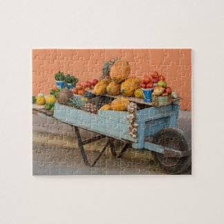 Fruit and vegetable cart, Cuba Puzzle