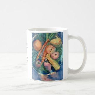 Fruit and Veggies by David Reynolds Coffee Mug