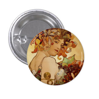 Fruit - Autumn 1897 1 Inch Round Button