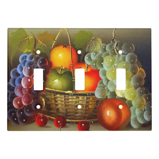 FRUIT BASKET LIGHT SWITCH COVER