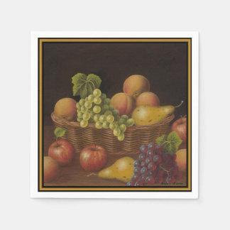 Fruit Basket Paper Napkin