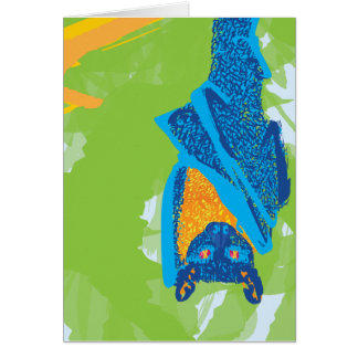 Fruit Bat Card