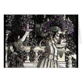 Fruit Bearers Parade Greeting Card
