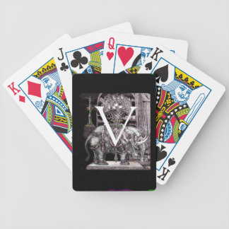 Fruit Bearing Elephant Volpone Poker Deck