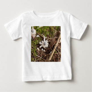 Fruit body of a rayed earthstar (Geastrum quadrifi Baby T-Shirt