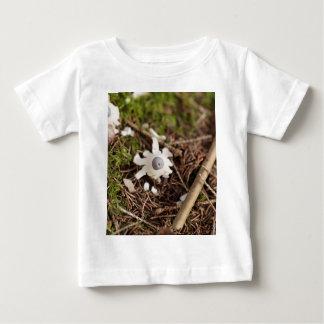 Fruit body of a rayed earthstar (Geastrum quadrifi Baby T-Shirt